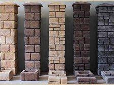 Камни для забора и колонн